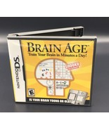 Brian Age Nintendo Ds Complete - $5.99