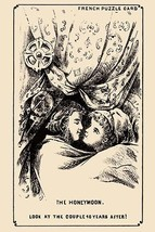 The Honeymoon by French Puzzle Card - Art Print - $19.99+