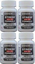 Stress Tab with Zinc High Potency Stress Formula with B-Vitamins, C+E, p... - $23.74