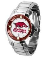 Arkansas Razorbacks Mens Titan Steel Watch - $165.25