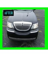 2003-2009 LINCOLN TOWN CAR LOWER CHROME GRILLE GRILL KIT TOWNCAR 2004 20... - $30.00