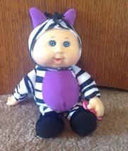 "Cabbage Patch Kids Cuties 2014 Safari Friend 9"" Zebra With Pacifier - $16.00"