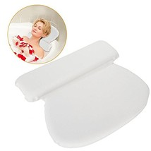 PU Bathtub Headrest Pillow, Foam Inner Stuff Padding Bathtub Circle Pad ... - $16.88