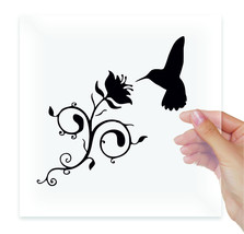 This is a humming bird Vinyl Stickers Decal Laptop Notebook Tablet Art W... - $2.99+