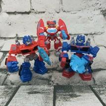 Hasbro Transformers Lot Of 3 Optimus Prime - $11.88