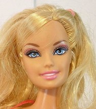 1998 Mattel Blonde Hair Barbie Fully Dressed Doll With Bend Knees Pink D... - $12.00