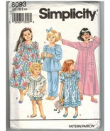 Simplicity Uncut Sewing Pattern #8093 Child's N... - $7.50
