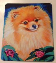 Pomeranian Mouse Pad Show Dog Animals Pets Computer Accessory USA Christ... - $17.45