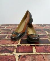 "Naturalizer N5 Comfort Prema 7 1/2 N Womens Low Heel Dark Brown 10"" - $24.49"