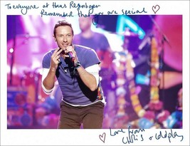 Chris Martin Autograph *Coldplay* Hand Signed 10x8 Photo - $190.00