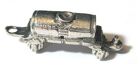 TANKER TRAIN FINE PEWTER  FIGURINE - Approx. 1 1/4 inches Long (T170) image 1