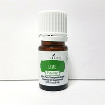 Young Living Lime Vitality 100% Pure Therapeutic-Grade Essential Oil 5ml... - $9.69