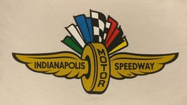 Indianapolis Motor Speedway WING & WHEEL Logo Long Sleeve Shirt - Small - $19.24