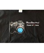 Powershot Pro 1 Power Of The Lens Canon T-Shirt camera vintage SLR - $6.64