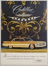 1961 Print Ad Cadillac Sedan de Ville 4-Door Cars More Practical - $10.86