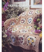 Country Gardens Afghan Annie's Crochet PATTERN/INSTRUCTIONS/NEW/LEAFLET - $3.21