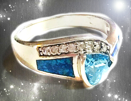 HAUNTED RING CLEAR ALL BLOCKED CHANNEL & NEG ENERGY MAGICK SECRET OOAK M... - $8,987.77