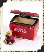 "Boyds Treasure Box ""Coke Chest w/Thirstin"" Coke® Licensed- #919910- NIB- 2005 - $44.99"
