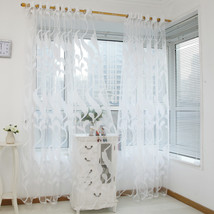 Hot Sale Wheat Sheer Curtain Sun-shading Tulle Living Room Window Treatm... - $7.98