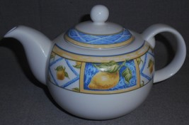 1997 Royal Doulton LEMON TRELLIS PATTERN 32 oz Teapot MADE IN ENGLAND - $39.59