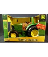 "NEW ERTL John Deere Farm Toy Sandbox Tough 11"" Tractor 1/16 scale~ Die-C... - $15.83"