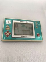Nintendo Donkey Kong Jr Game and Watch DJ-101 1982 Tested Working Vintage retro - $98.01