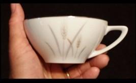 Platinum Wheat China Tea Cups AB 346 – Vintage - $48.95
