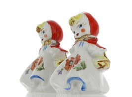 "Hull Little Red Riding Hood 5"" Salt and Pepper Range Shaker Set AAA image 2"