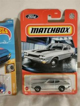 matchbox 1970 ford capri diecast 1/64 import car toy - $3.72