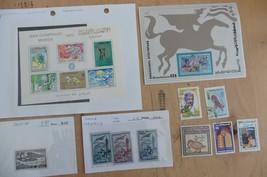 H11 Tunisia stamps souvenir sheets 584B Olympics 686 Bicentennial C16 20... - $17.60