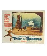 Vintage 1961 Thief of Bagdad Movie Lobby Card #2 - $17.63