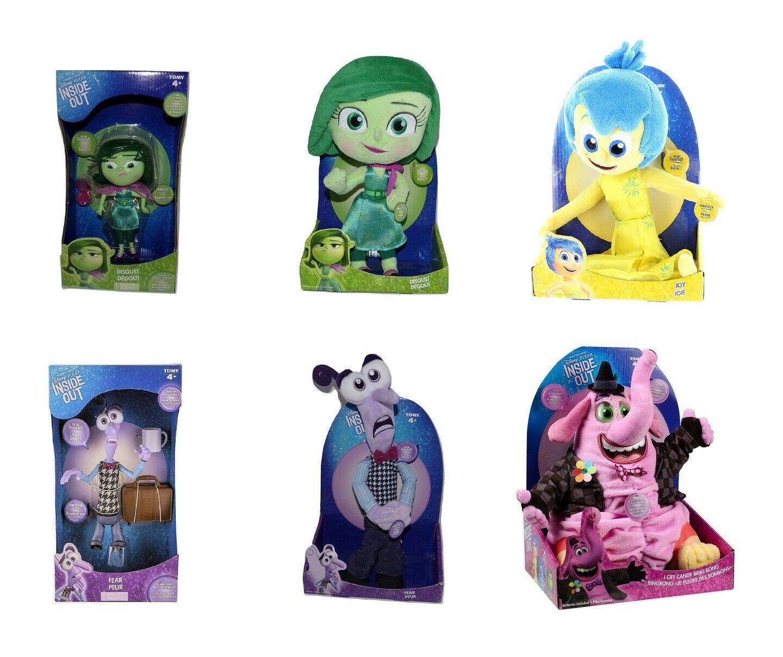 DISNEY Pixar Inside Out Talking Action Figure, Plush Doll Toy FEAR, DISGUST, JOY - $22.99