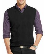 Van Heusen Argyle Sweater Vest Black New Msrp $58.00 Size XL  - $18.99