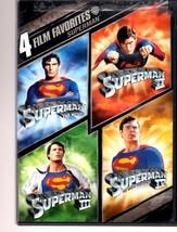 DVD - Superman 4 Film Favorite (2008, 2-Disc Set) - $9.75