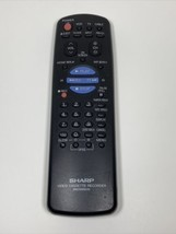 Sharp RRMCG0055AJSA Factory Original Vcr Remote VC-H942U, VC-A543U, VC-H945U - $16.78