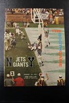 1971 Giants vs Jets The Both Game Program Signed By Matt Snell & Rocky T... - $31.67