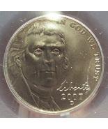 2007-D Jefferson Nickel Satin Nickel PCGS MS68 #G012 - $59.99
