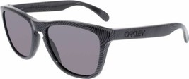 Oakley Sunglasses OO9013-56 Frogskins Fingerprint Dark Grey W/ Warm Grey... - $64.34