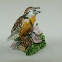 Enesco Gift Gallery #694991 Eastern Meadowlark Pewter Miniature with Box 1989 - $27.99