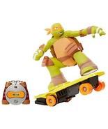 Teenage Mutant Ninja Turtles RC Skateboarding Mikey - $85.48