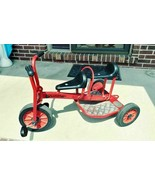 Winther Mini Viking Taxi Red 2 Seats Tricycle **Local Pickup Granite Cit... - $240.45