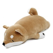 Japanese Anime Shiba Inu Dog Stuffed Plush Toy Doll Soft Stuffed Animal Toy Cute - $34.98