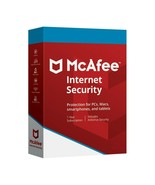 McAfee Internet Security 2021 1 Year 10 Devices (Download) - $8.99