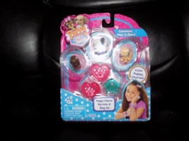 Puppy In My Pocket 3 Charms Puppies & Puppy Charm Bracelet Set #2 - $22.68
