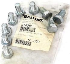 BAG OF 9 NEW BALLUFF Z/HEX-HEAD BOLTS M12 X 20, 314386