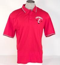Izod Collegiate Cincinnati Bearcats Red Short Sleeve Polo Shirt Men's NWT - $37.49