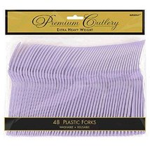 Pack of 48 Forks Lavender Party Supply - $11.99
