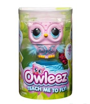 OWLEEZ Interactive Flying Baby Owl (Pink) - Pet Toy Drone Helicopter - Brand New - $20.57