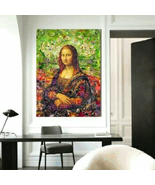 Abstract Mona Lisa Wall Decor On Canvas - $17.59+