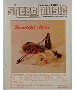 Sheet Music Magazine February 1983 Standard Piano/Guitar - $3.99